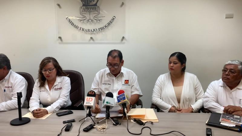Regidores de MORENA y PT piden la destitución del secretario del ayuntamiento