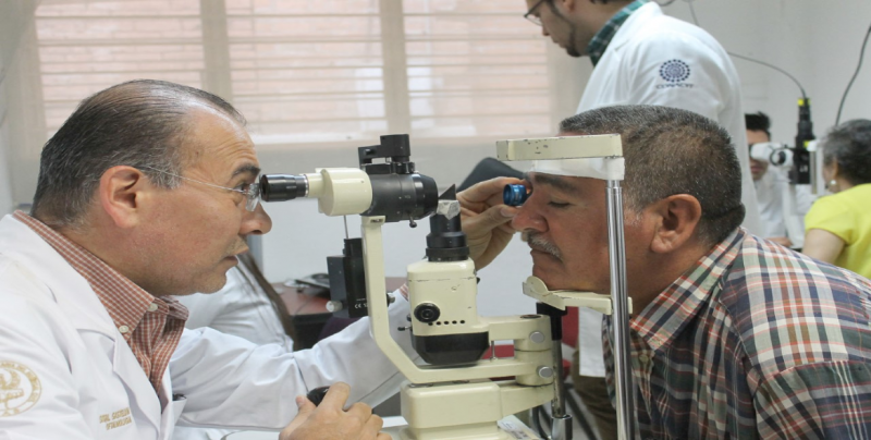 Los daños en los ojos por  hipertensión