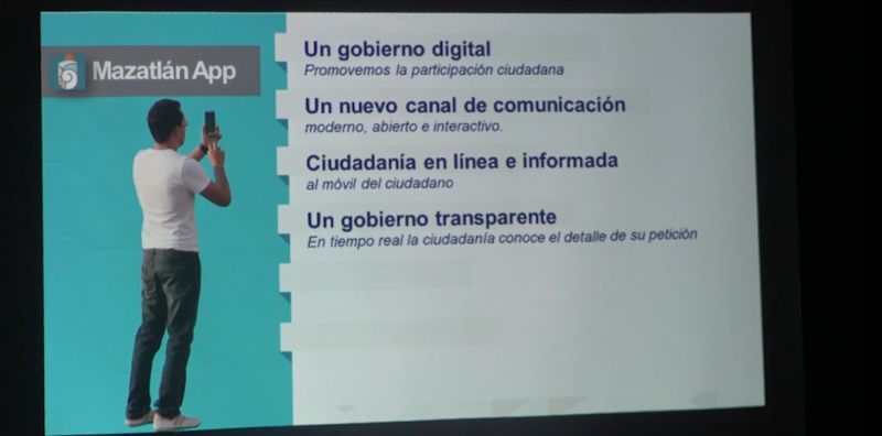 86 por ciento de reportes han sido resueltos en Mazatlán App