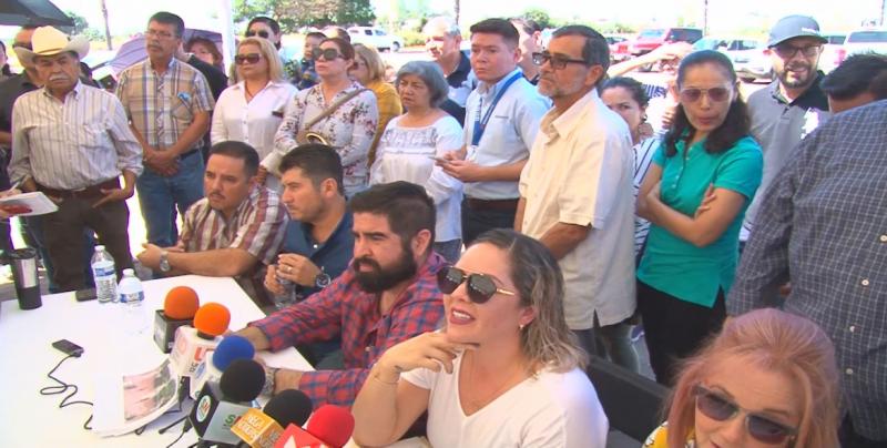 Vecinos de Valle Alto se manifiestan, exigen frenar obras de fraccionadoras