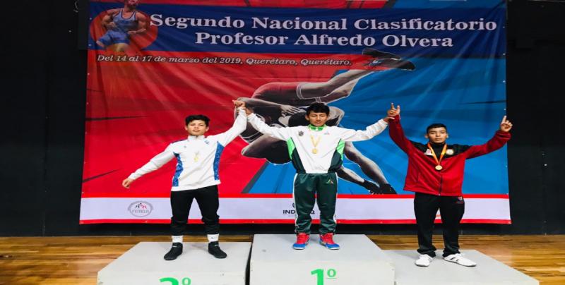 Seis medallas para Sinaloa en Campeonato Nacional de Luchas Asociadas