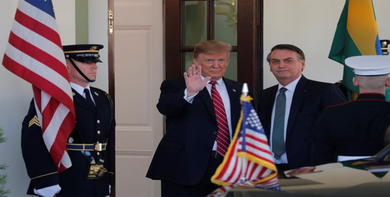 Bolsonaro afirma que Trump buscará convertir a Brasil en miembro de la OTAN