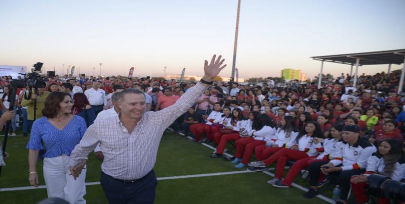 Inaugura el Gobernador Quirino Ordaz Coppel la Olimpiada Regional 2019