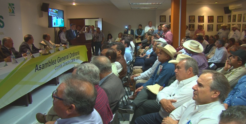 Los productores de Sinaloa no estamos pidiendo limosnas a la federación : Ulises Robles