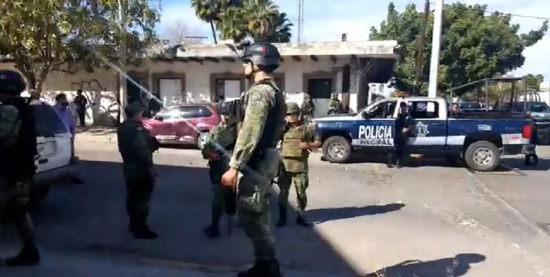 Reportan amenaza de bomba en un comercio de Los Mochis