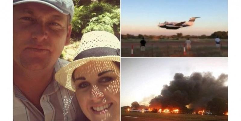 #Video Hombre decide estrellarse en una avioneta donde se encontraba su pareja