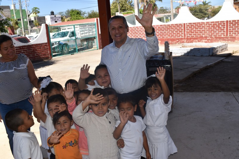 Rehabilitarán cocina de Jardín de niños de Rosario