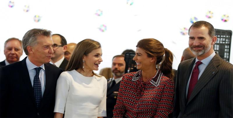 """Presidente Macri dice que los """"mejores socios"""" de Argentina son los españoles"""