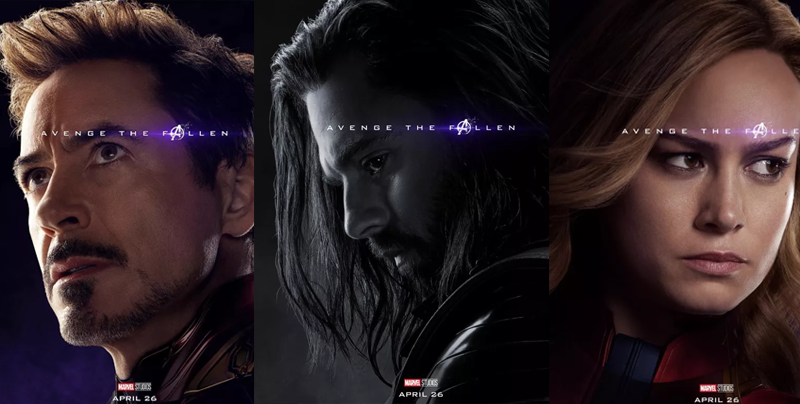Descubre quién murió y quién sobrevivió en pósters de 'Avengers: Endgame'