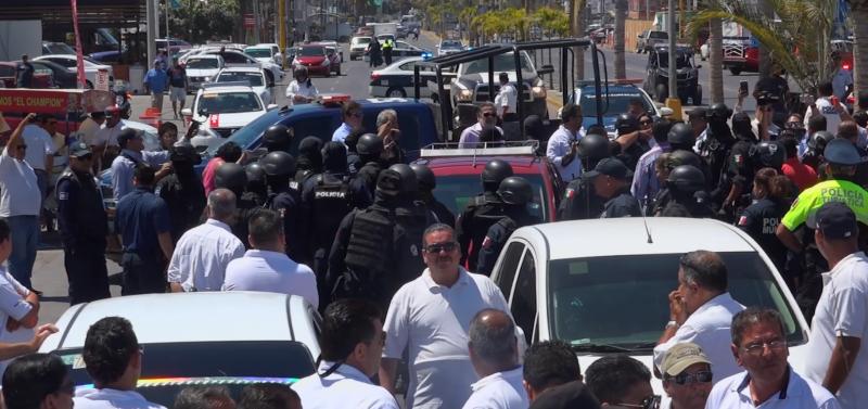 Alcalde responsabiliza a líderes transportistas por altercado