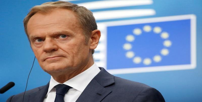 """Tusk pide al PE respetar a quienes rechazan el """"brexit"""" y """"no traicionarlos"""""""