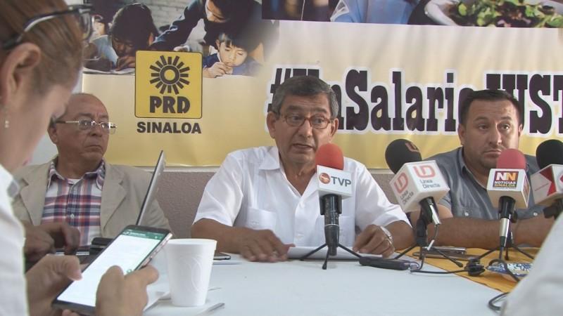 PRD exije a diputados morosos el pago de sus cuotas de militancia
