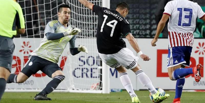 México vence a Paraguay y cumple actuación perfecta en debut de Martino