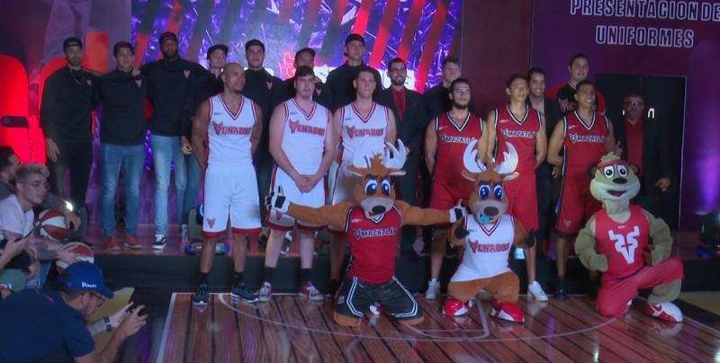 Venados Basketball presenta uniforme y su plantilla
