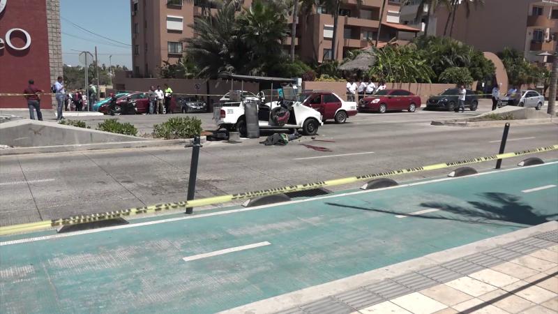 Muere conductor de pulmonía en Avenida del Mar