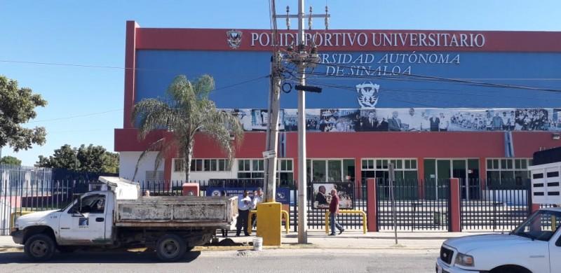 Restringirán servicio de drenaje en Polideportivo de la UAS