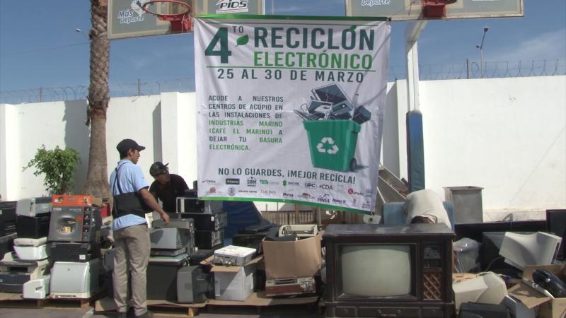 Realizan 4to Reciclón electrónico en Mazatlán