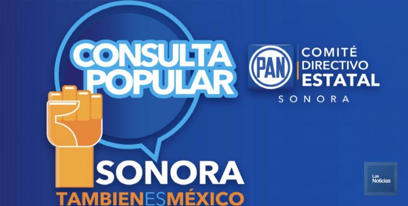 Arrancó PAN Sonora consulta popular