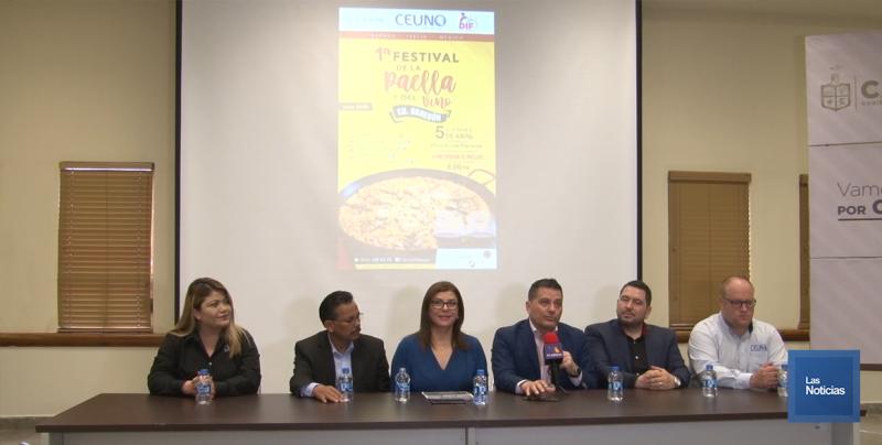 Organizan festival de la Paella para ayudar a familias vulnerables