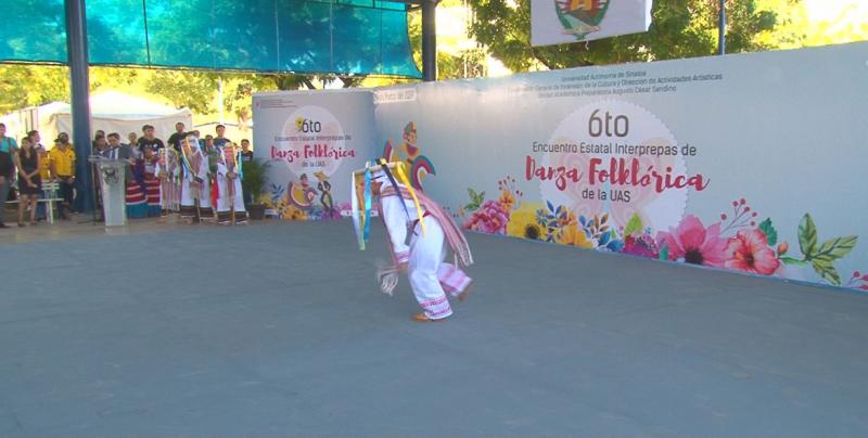Sexto Encuentro Estatal Interprepas de Danza Folklórica de la UAS