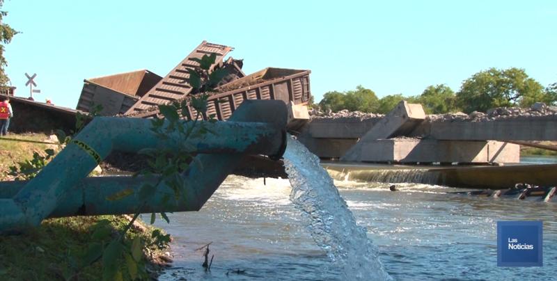 Oomapasc descarta daños a la salud tras descarrilamiento de tren a Canal Bajo
