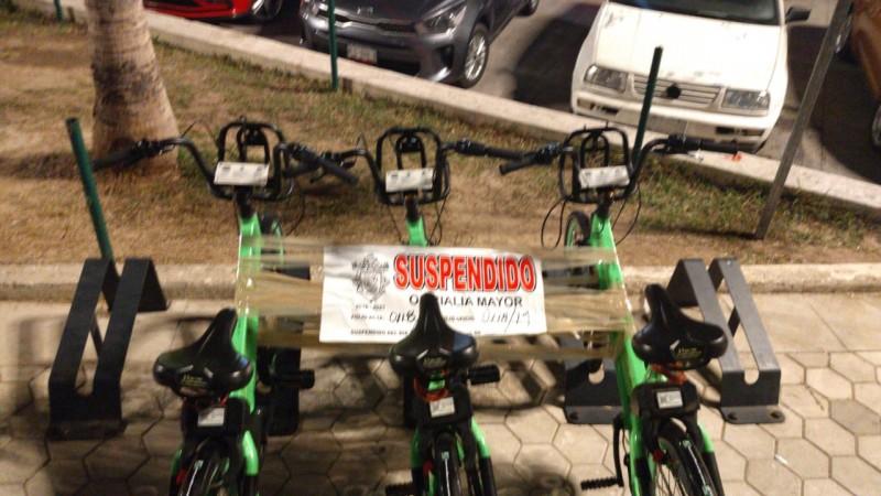 Habrá cambio de proveedores de bicicletas públicas en Mazatlán