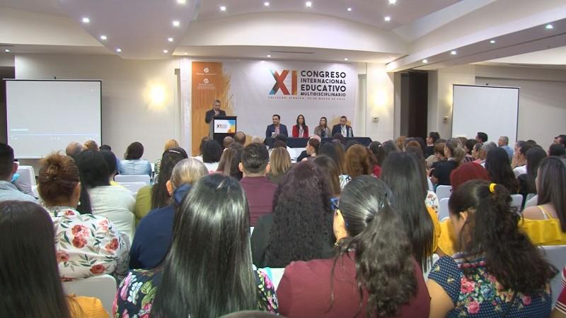 Realizan Congreso Internacional Educativo Multidiciplinario en Culiacán