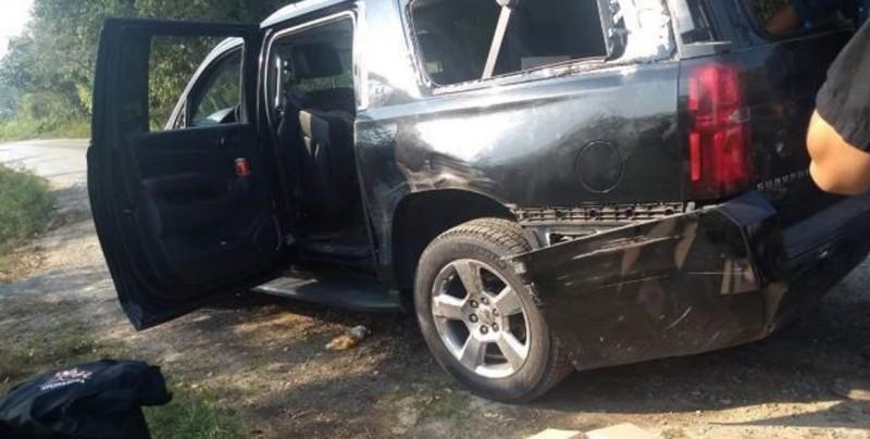 Caravana de AMLO sufre accidente; No se reportan heridos