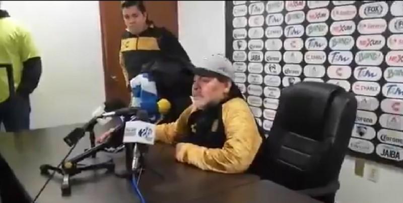 Maradona dedica triunfo de los Dorados a Nicolás Maduro