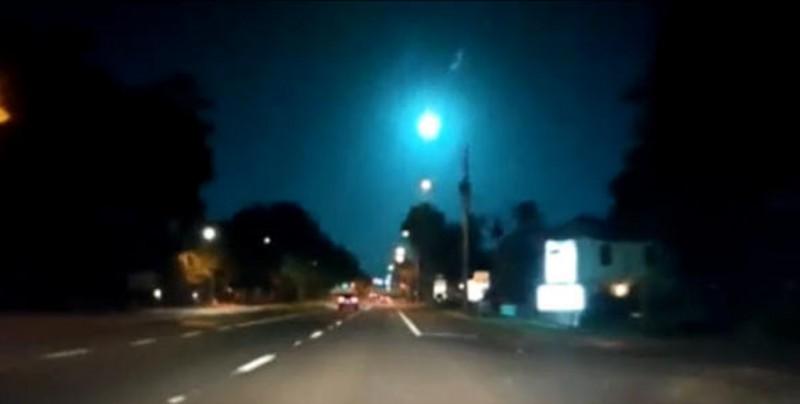 El cielo de Florida es iluminado por la caída de un meteorito