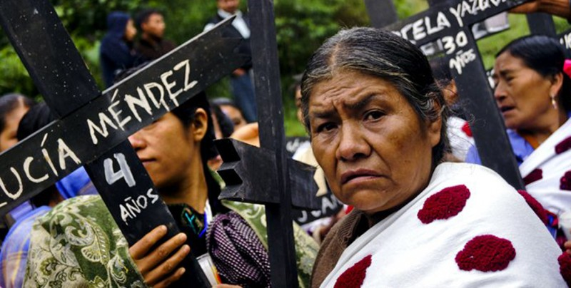 Piden a Gobierno mexicano reconocer culpa del Estado en la matanza de Acteal