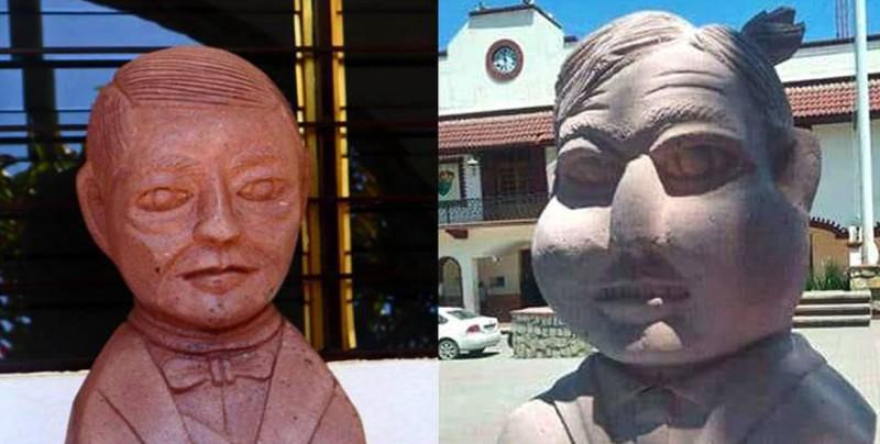 Tras el polémico busto de Benito Juárez, ahora llega uno de AMLO