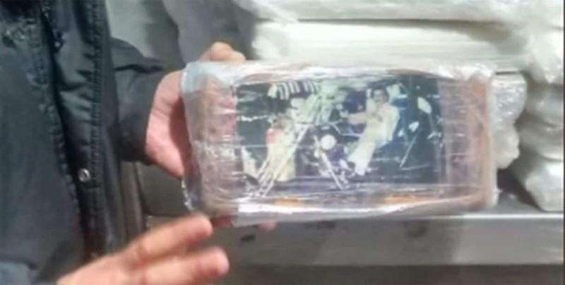 Decomisan en EEUU un cargamento de heroína marcado con foto de Pablo Escobar