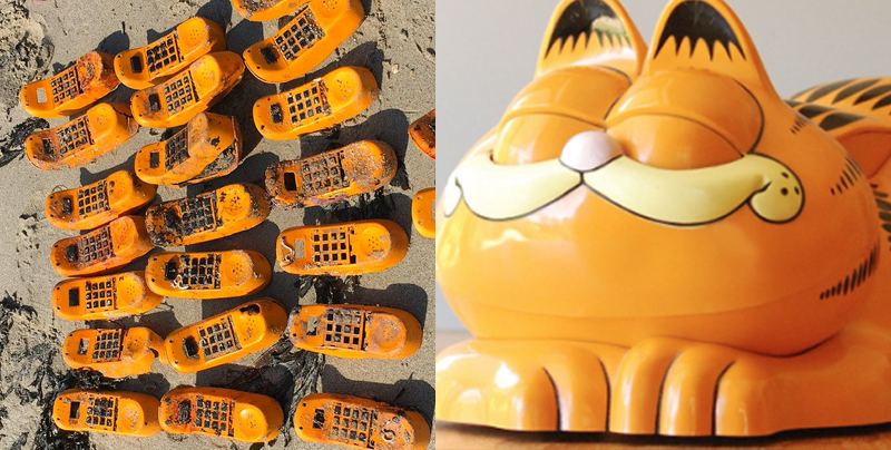 Se descubre el misterio de los teléfonos de Garfield en las playas de Francia