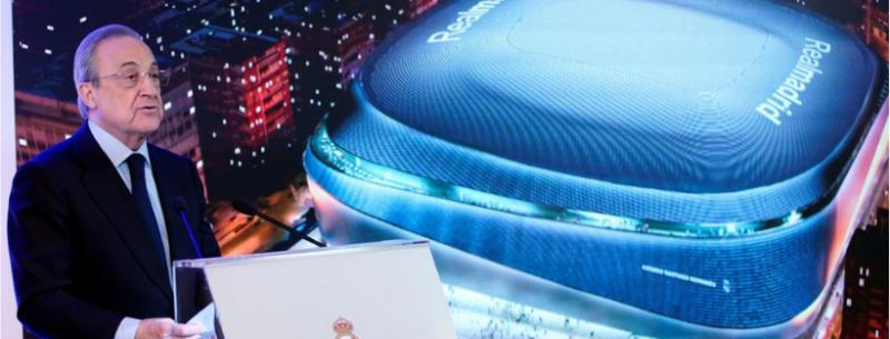 La increíble remodelación del Estadio Santiago Bernabéu