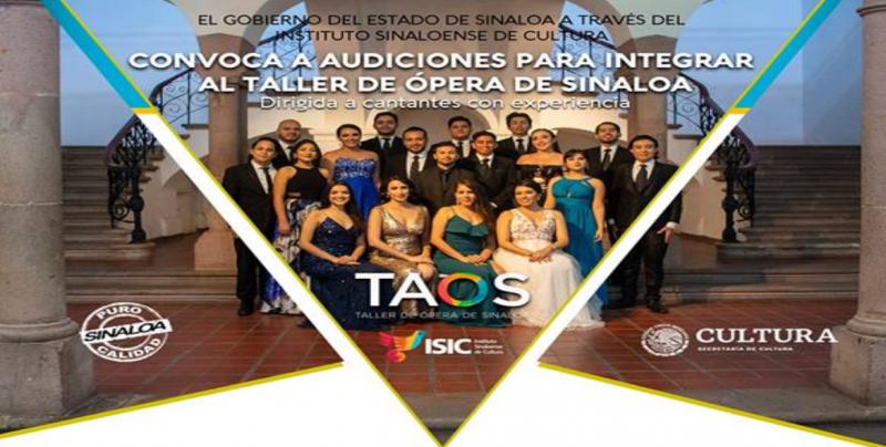 Hasta el 15 de abril, registro para audiciones del Taller de Ópera