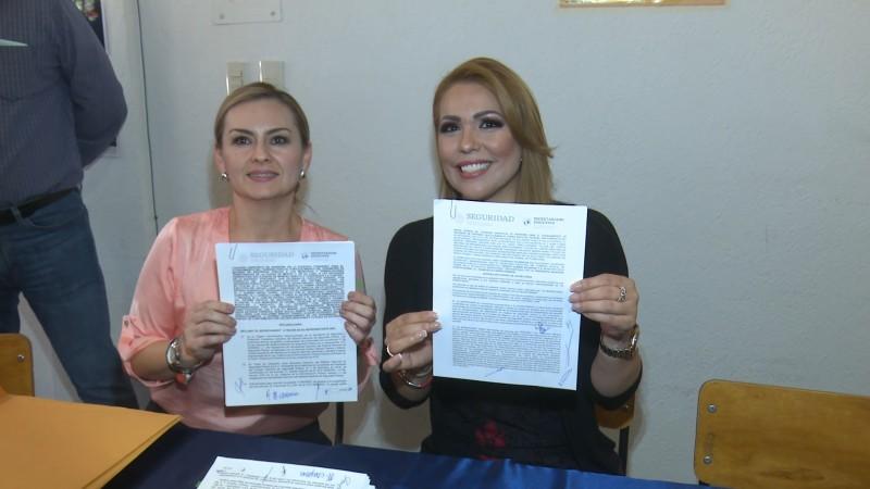 Firma convenio el fuerte para recibir recursos del FORTASEG