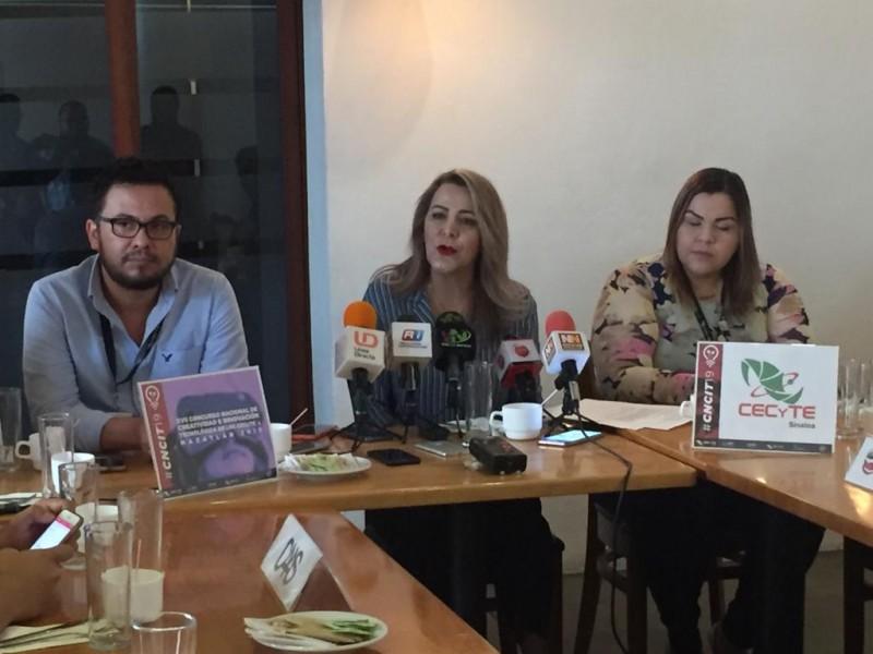 Sinaloa será sede del Concurso Nacional de Creatividad e Innovación Tecnológica CECYTE