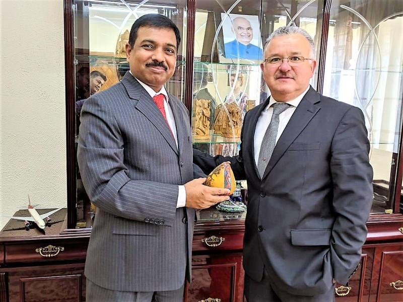 Promueve el Gobierno de Sinaloa la exportación de granos ante las embajadas de la India y Sudáfrica
