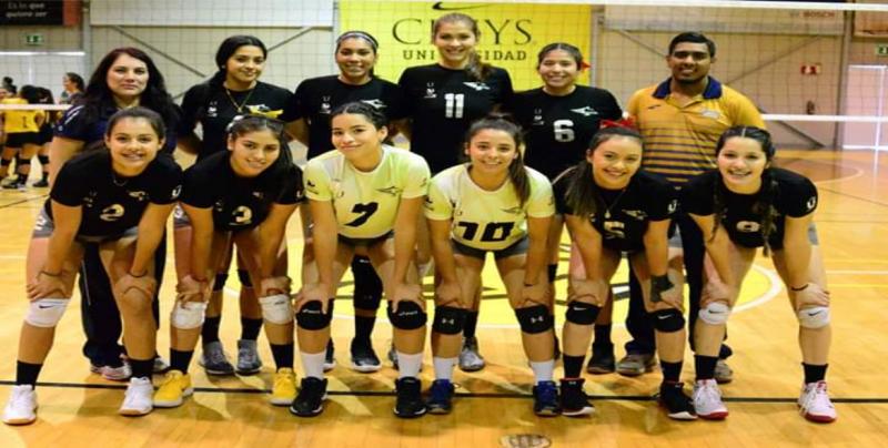 Las Águilas de la UAS a Semifinales en Volibol de Sala femenil en Universiada regional