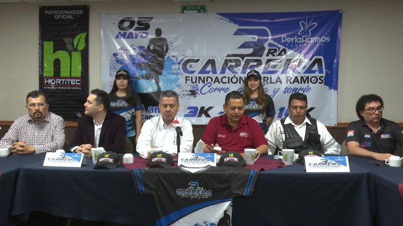 Invitan a la tercer carrera Perla Ramos