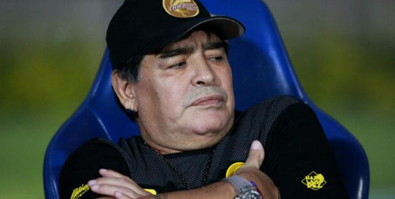 Maradona será investigado por declaraciones a favor de Maduro y contra Trump