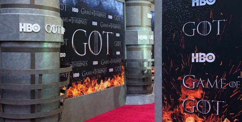 'Game of Thrones': Mira el paso de los actores por la última alfombra roja