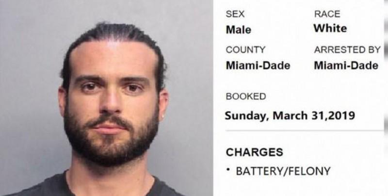 El actor mazatleco Pablo Lyle es arrestado en Miami tras golpear a hombre de 63 años