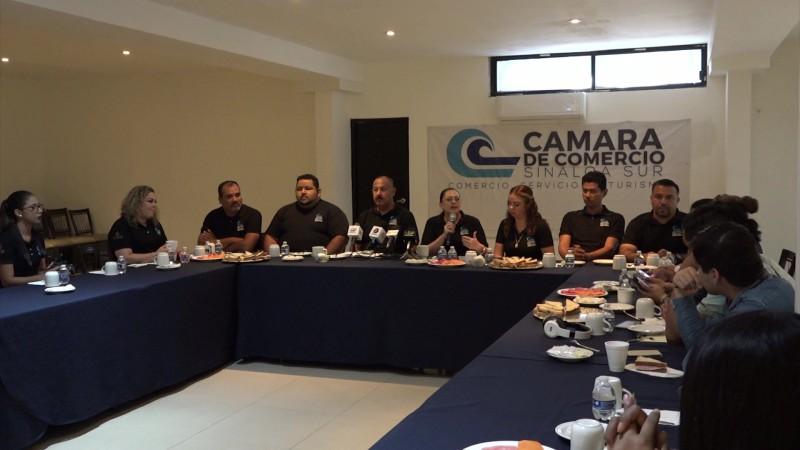 Quiere formar la Canaco 'Empresas Resilientes' en Mazatlán