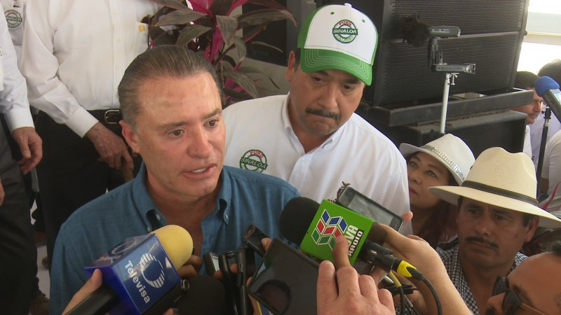 Gobernador reitera respaldo para el municipio de  Ahome