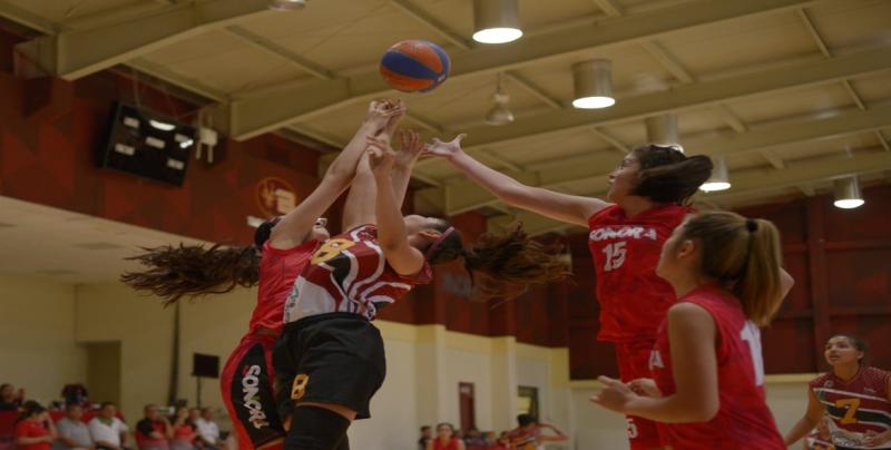 Cuatro boletos en baloncesto logra Sinaloa en Olimpiada Regional