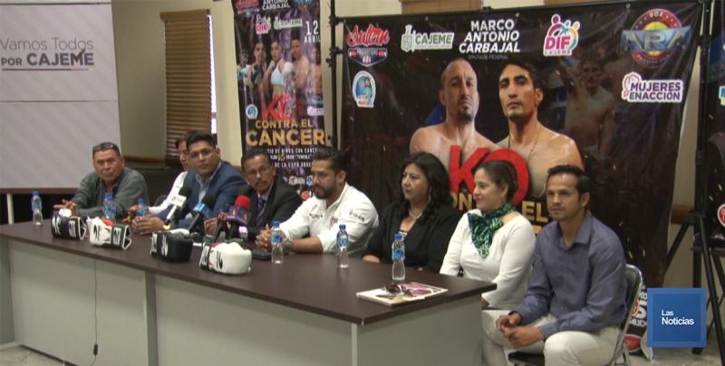 """Invitan a evento """"knockout contra el cáncer"""""""
