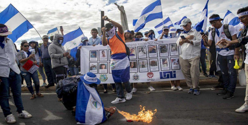 Gobierno de Nicaragua excarcela a otros 50 manifestantes antigubernamentales