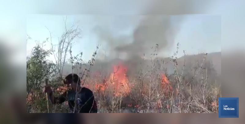 Continúan incendios en Álamos